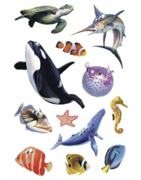 HERMA Sticker MAGIC Sealife, Jewel