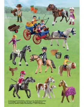 HERMA Sticker Playmobil Pony Ranch, Stone