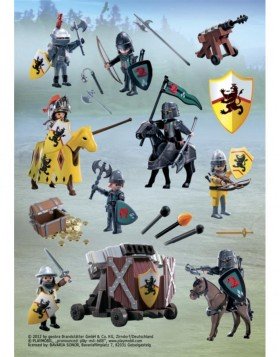 HERMA Sticker Playmobil Lion Knights, Stone