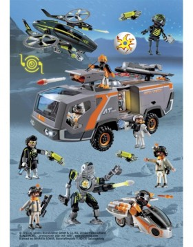 HERMA Sticker Playmobil Top Agenten, Stone