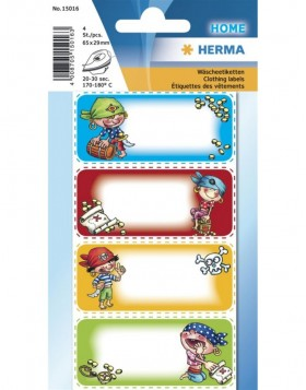 HERMA Clothing labels pirates