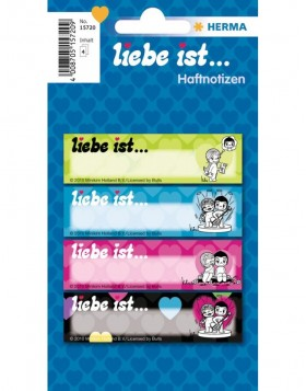 Liebe ist ... (Love is...) Note book labels 4 / 30