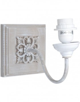 Bracket for wall lamps gray bloom