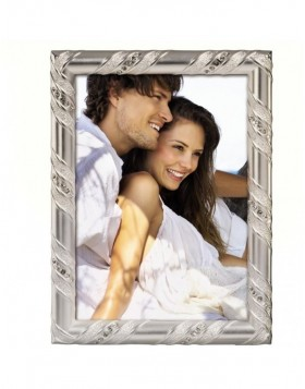 HOLLYWOOD photo frame 10x15 cm silver