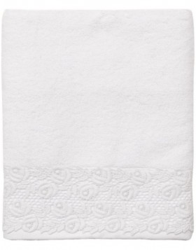towel Clayre-Eef white TOW0003MW Weiß