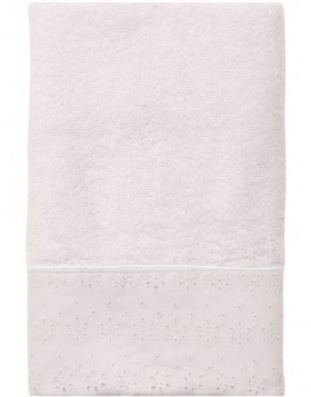 towel 50x100 cm Clayre-Eef light purple