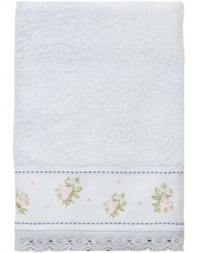 towel light blue - TOW0005MLBL Clayre Eef