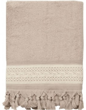 towel 70 x 140 cm TOW0002LB Clayre Eef grey/white
