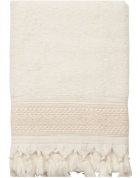 towel 70 x 140 cm Clayre-Eef TOW0002LN natural