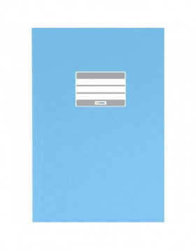 Exercise book cover PP A4 light blue opaque