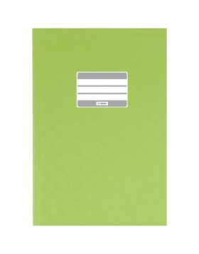 Exercise book cover PP A4 light green opaque