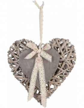 heart hanger in the size 25x25 cm