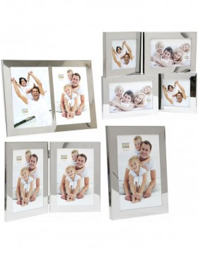 Glossy frame S67AH1 silver 10x15 cm, 13x18 cm and 15x20 cm