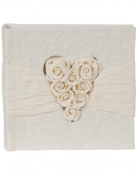 Wedding slip-in album 6PA0049 with roses