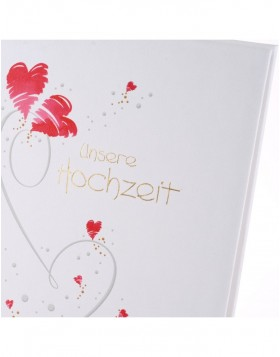 Wedding Album Flying Hearts