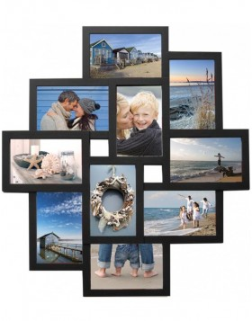 Holiday gallery frame 10 photos black