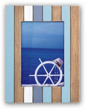 Wooden photo frame 10x15 cm Mauritius