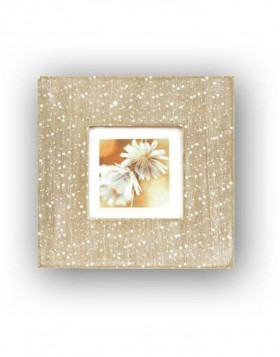 Wooden photo frame 10x10 cm Jaipur