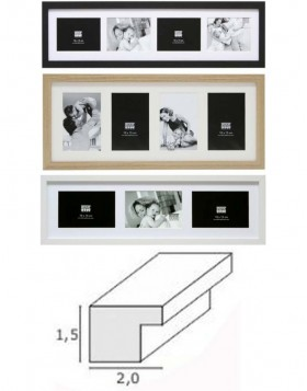 Wooden gallery frame S66K 10x15 cm, 13x18 cm and 15x20 cm...