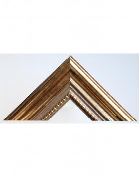 wooden frame Antik 9 x 13 cm gold normal glass