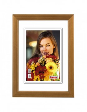 wood frame Bella 30x40 cm walnut
