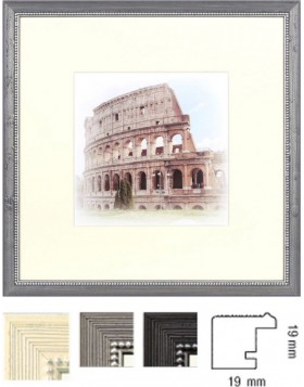 wooden frame Capital Roma