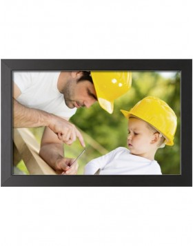 wooden frame Classic 20x28 cm Normal glass black