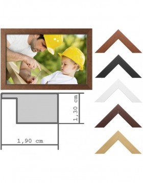 Wooden frame Classic 7 x 10 - 50x70 cm Special sizes...