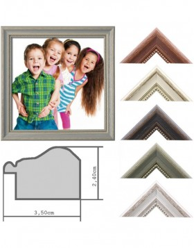wooden frame Landhaus 10x10 to 50x70 cm Special sizes...