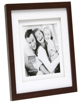 Raher 13x18 wooden frame double-passepartout