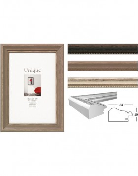 Unique 2 wooden frame - solid wood frame