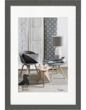 Home wooden frame 50x70 cm grey