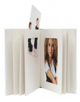 13x18 cm mat-photo album JOLANA white