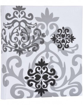 Jumbo photo album BAROQUE - white