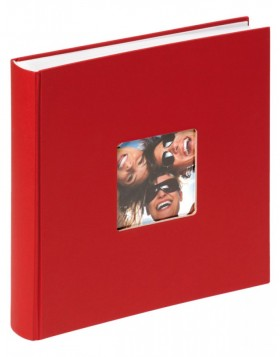 Jumbo photo album FUN red