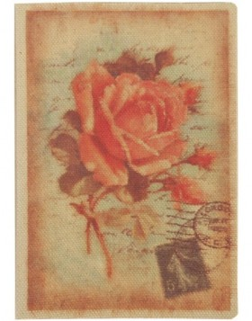 Karte ANTIQUE ROSE 12,5x17,5 cm