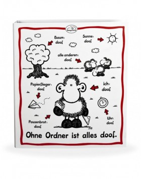 Kinder Ordner DIN A4 SHEEPWORLD 5 cm