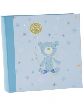 Kinderalbum Teddy blau
