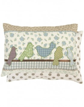 Pillow BIRDLIFE filled 35x50 cm