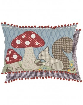 Kissen WOODLAND ANIMAL 35x50 cm