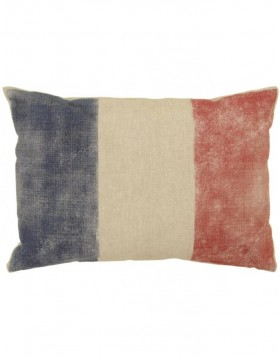 filled pillows French Tricolore 35x50 cm