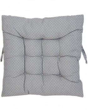 pillow with foam material grey - KT029.007 Clayre Eef