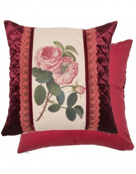 kissenbezug hahn im landhaus stil rot 50x50 cm fotoalben. Black Bedroom Furniture Sets. Home Design Ideas
