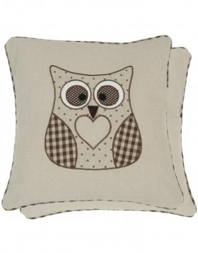 pillowcase chocobrown - KT020.044CH Clayre Eef