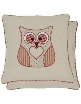 pillowcase red - KT020.044R Clayre Eef