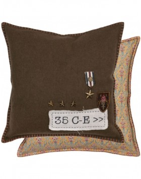 pillowcase brown - SYR20 Clayre Eef