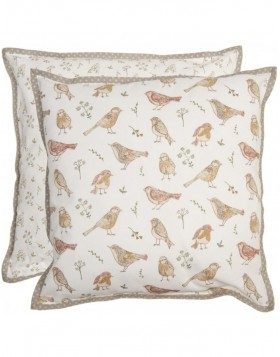 pillow case Singing Birds 40x40 cm