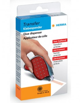 HERMA Glue dispenser Transfer, permanent anthracite, 15m