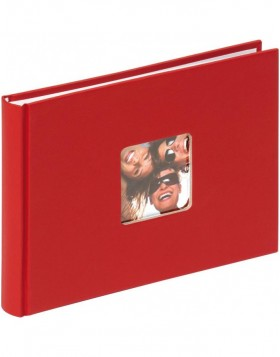 FUN - small photo album red