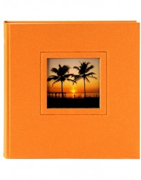 Small album Colore orange 19,5x22 cm